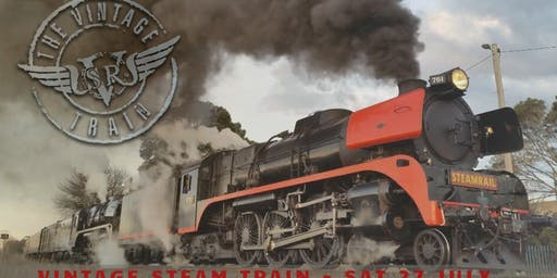 Saturday 27 July 2019 - Vintage Steam Train - Moe / Traralgon