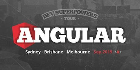 Angular Superpowers Tour - Sydney tickets