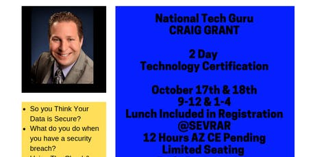National Speaker Craig Grant- The Technology Guru tickets