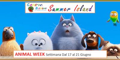 prenotazione CENTRO ESTIVO ANIMAL WEEK Dal 17 al 21 Giugno