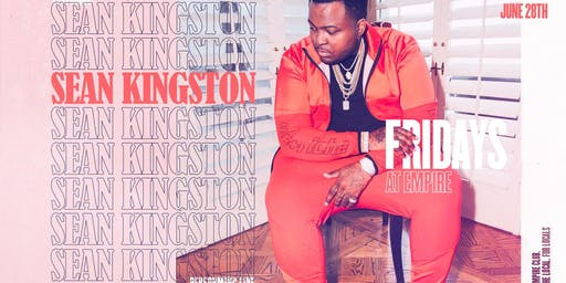Sean Kingston Performing Live @ Fridays at Empire