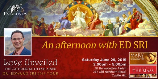 An Afternoon with ED SRI - St Bernadette's Castle Hill, 29 June 2019