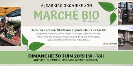 Marché bio d'été Artisans & Producteurs locaux à Turckheim ALSABRICO (2019) billets