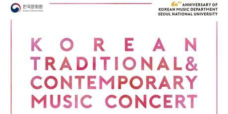 Korean Traditional & Contemporary Music Concert tickets