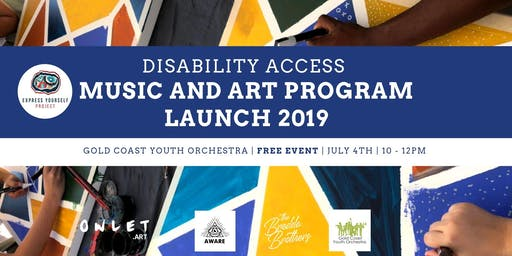 Disability Access Music and Art Program Launch