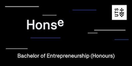 Bachelor of Entrepreneurship (Honours) Info Session tickets