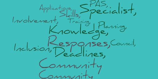 Planning Applications & Responses Training for Community Councils