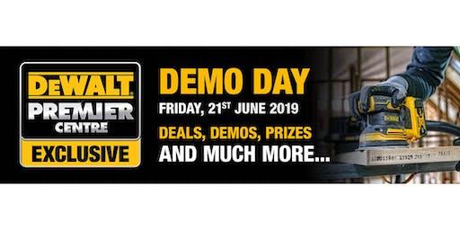 D&M Tools - DeWALT Premier Centre Demo Day