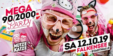 Mega 90/2000er Party w. Mütze Katze DJ-Team Tickets