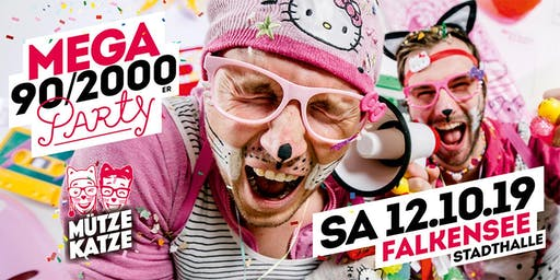 Mega 90/2000er Party w. Mütze Katze DJ-Team