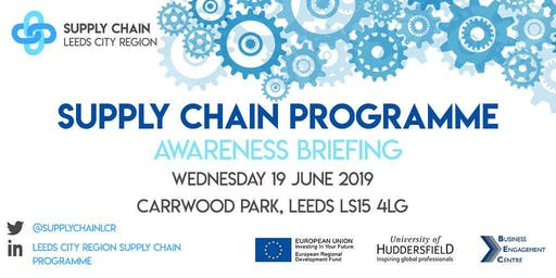 Supply Chain Programme Awareness Briefing