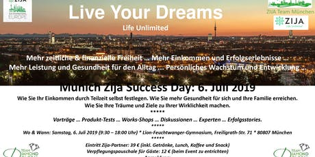Munich Zija Success Day Tickets