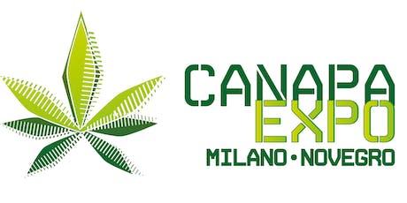 CANAPA EXPO MILANO biglietti
