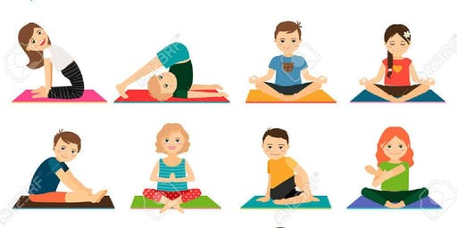 Kids Week Yoga at Chill Out 5-8 years 1:20-1:35pm