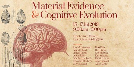 """WORKSHOP: """"Material Evidence and Cognitive Evolution"""""""