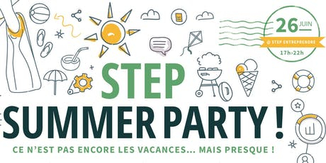 Step Summer Party billets