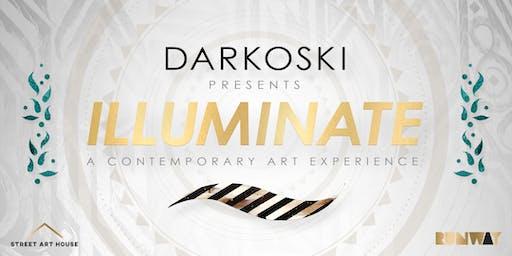 Street Art House Residency Show: ILLUMINATE BY DARKOSKI
