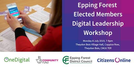 Epping Forest Elected Members Digital Leadership Workshop