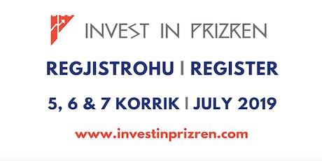 Forumi i Bashkë-Investimeve & Rrjetëzimit | Co-Investment&Networking Forum tickets