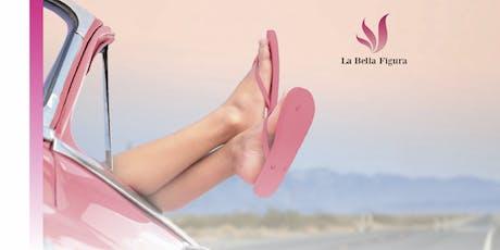 Urlaubsleichte und weiche Füße mit Déesse Cosmetics Tickets