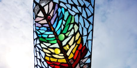 Heavenly Creatures: Illuminated Glass Mosaic Workshop (deposit booking)  tickets