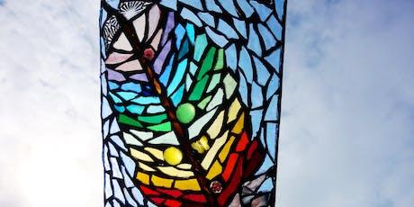 Heavenly Creatures: Illuminated Glass Mosaic Workshop (deposit booking)  tickets