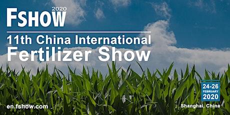 China International Fertilizer Show (FSHOW) tickets