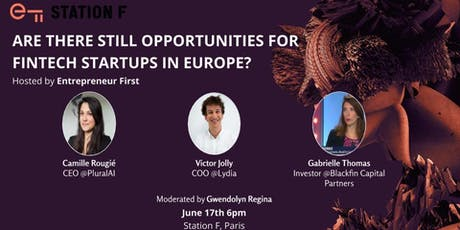 Are there still opportunities for FinTech startups in Europe? tickets