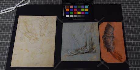 Laparoscopes and Leonardo: unveiling the secrets of art using medical imaging tickets