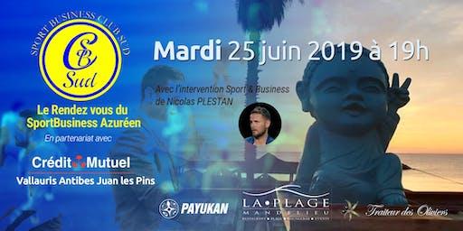 Les rendez vous du Sport business Azuréen avec Nicolas  Plestan