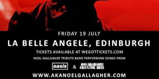 AKA Noel Gallagher at La Belle Angele
