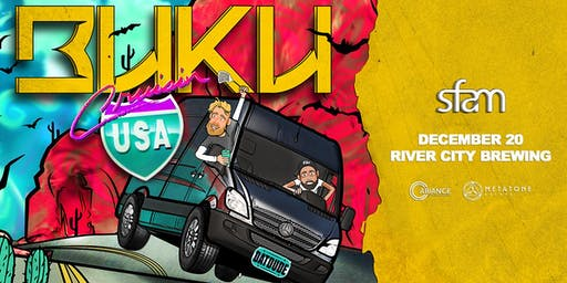 Buku's Cruisin' USA Tour ft. sfam - Jacksonville, FL
