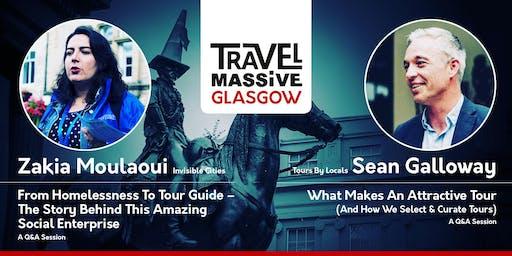 Travel Massive Glasgow June with Zakia Moulaoui & Sean Galloway