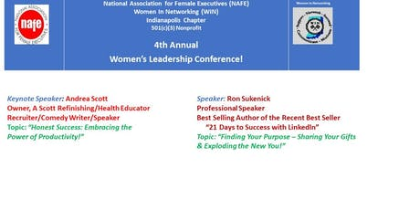 4th Annual Women's Leadership Conference tickets