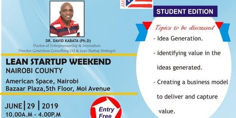 LEAN STARTUP STUDENTS EDITION tickets