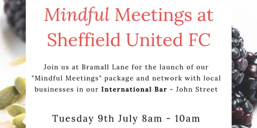 Mindful Meetings Networking Event