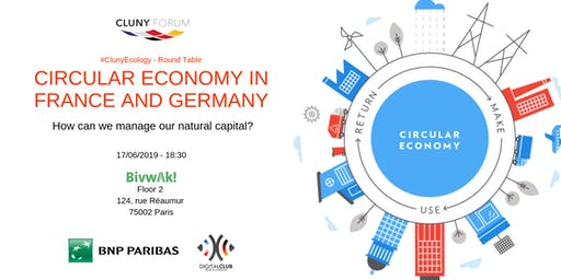 Cluny Ecology - Circular Economy Round Table