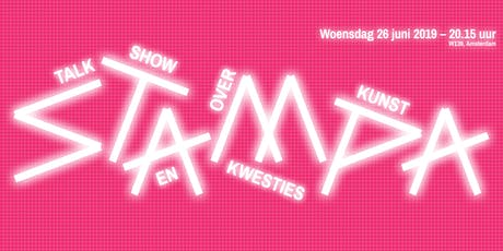 Stampa #10 - Talkshow over kunst en kwesties tickets