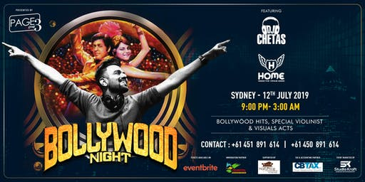 Bollywood Night with DJ CHETAS