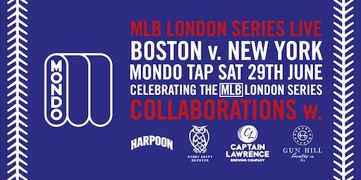 MLB London Series Saturday LIVE at Mondo Tap