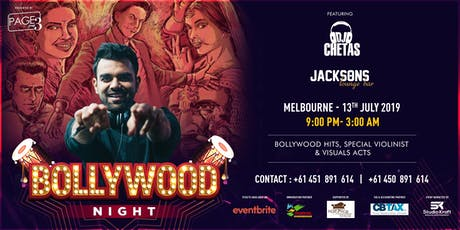 Bollywood Nigh with DJ CHETAS tickets