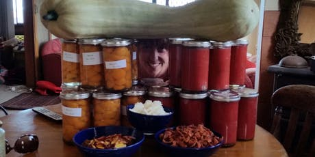 Preserving The Harvest - From tomato bottling to jam making  tickets
