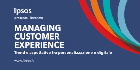 Managing Customer Experience biglietti