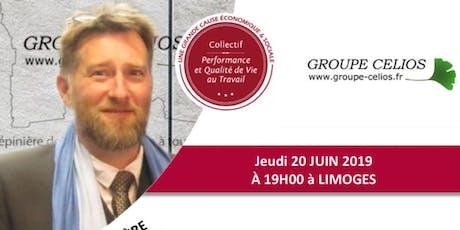 Causerie Qualité de Vie au Travail à Limoges billets
