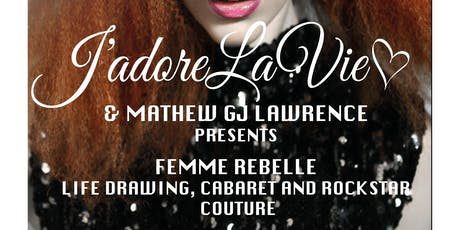 Life Drawing Cabaret and Couture tickets