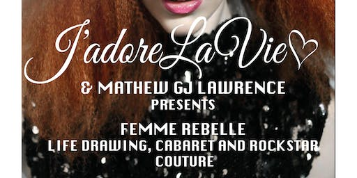 Life Drawing Cabaret and Couture