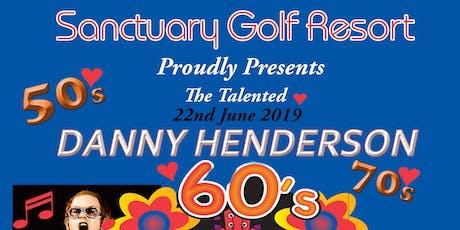 Danny Henderson & Pasta Night tickets