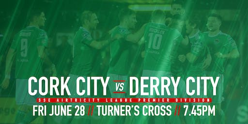 Cork City FC v Derry City FC