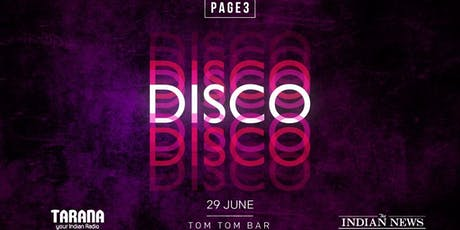 PAGE3 DISCO tickets