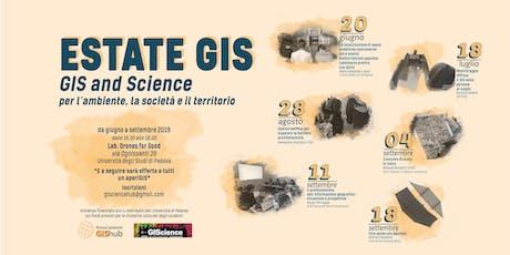 Estate GIS | GIS and Science per l'ambiente, la società e il territorio biglietti